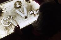 «Рисование песком» для детей