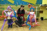 Русская сказка - баба яга на детский день рождения