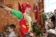 Детский день рождения в Измайлово. Шоу мыльных пузырей