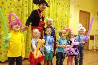 Детский праздник с Микки Маусом