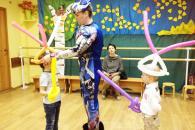 Трансформеры на детский праздник