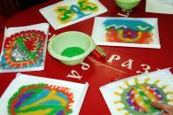 Песчаная живопись для детей