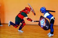 детская секция боя на мечах ВАО