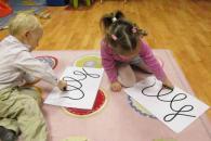 """Развитие графомоторных навыков дошкольника: """"Волшебные обводилки"""""""