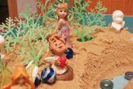 Сказочно-песочная мастерская для детей.