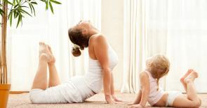 Йога с мамой в Измайлово