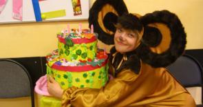 Аниматор Чебурашка на день рождения ребенка