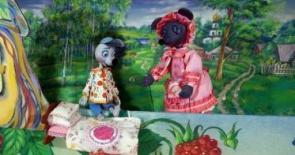 """Детский выездной кукольный спектакль """"Глупый мышонок"""" ВАО"""