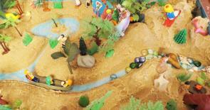 Сказочно-песочная мастерская для детей в Измайлово