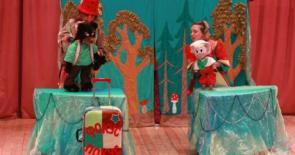 Приключения поросёнка Хрюнтика - выездной кукольный спектакль в Измайлово
