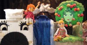 """кукольный спектакль на детский праздник """"Сестриа Аленушка и братец Иванушка"""""""