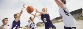 баскетбол для детей в Измайлово ВАО